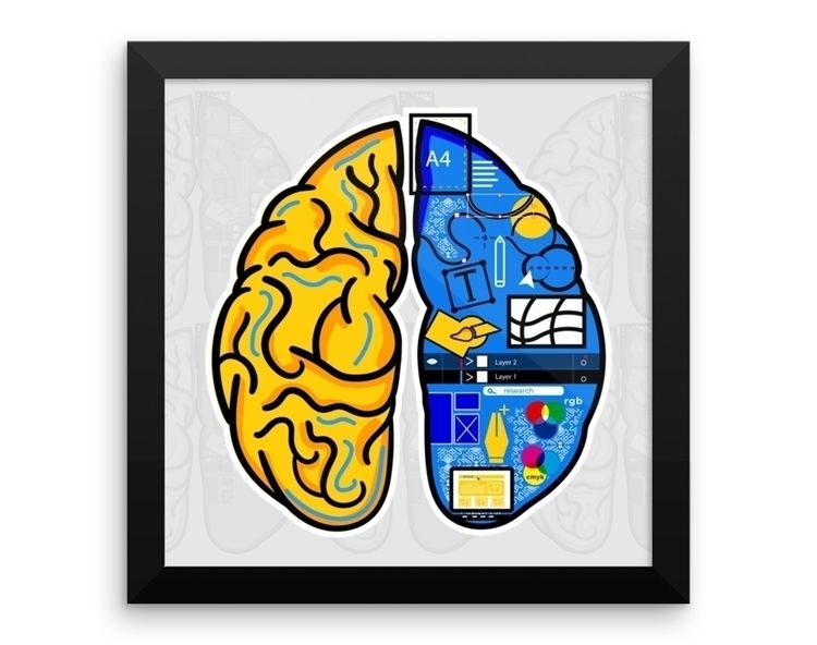 Mind illustration vector format - artmker | ello