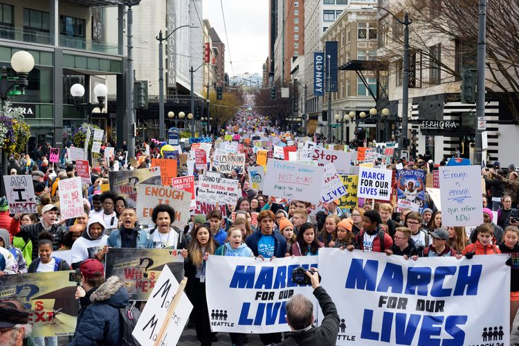 March lives Seattle WA 3/24/18  - brokenshade | ello