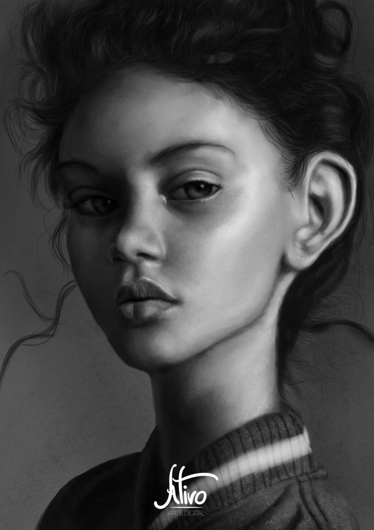 Digital Painting Study Instagra - josbarbosa01 | ello