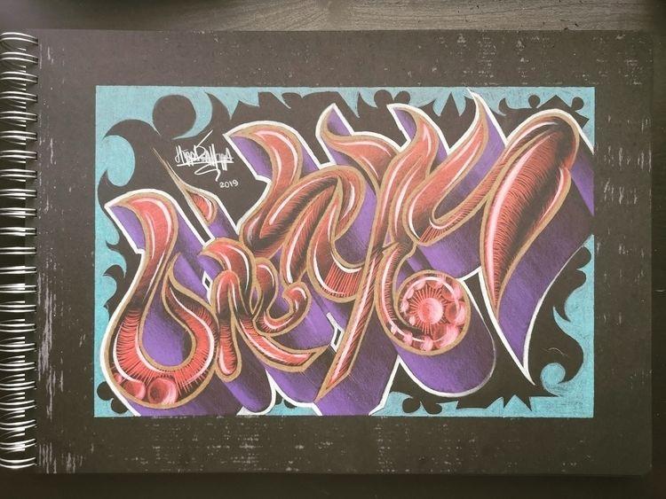 graffiti, sketch, streetart, artwork - wuspirit | ello