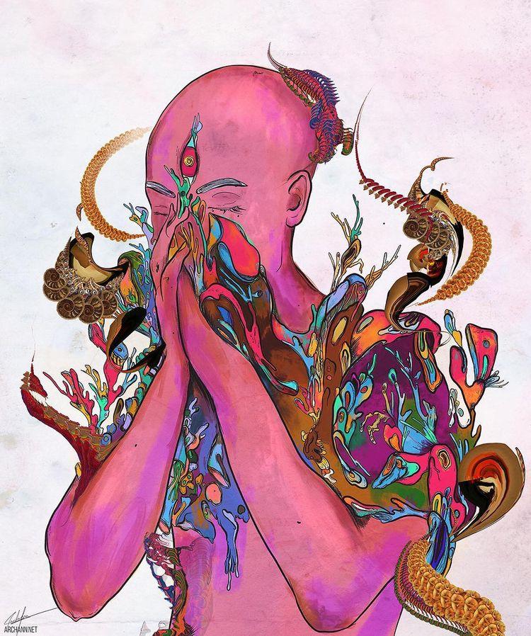 Touch' digital art / mixed medi - wowxwow | ello