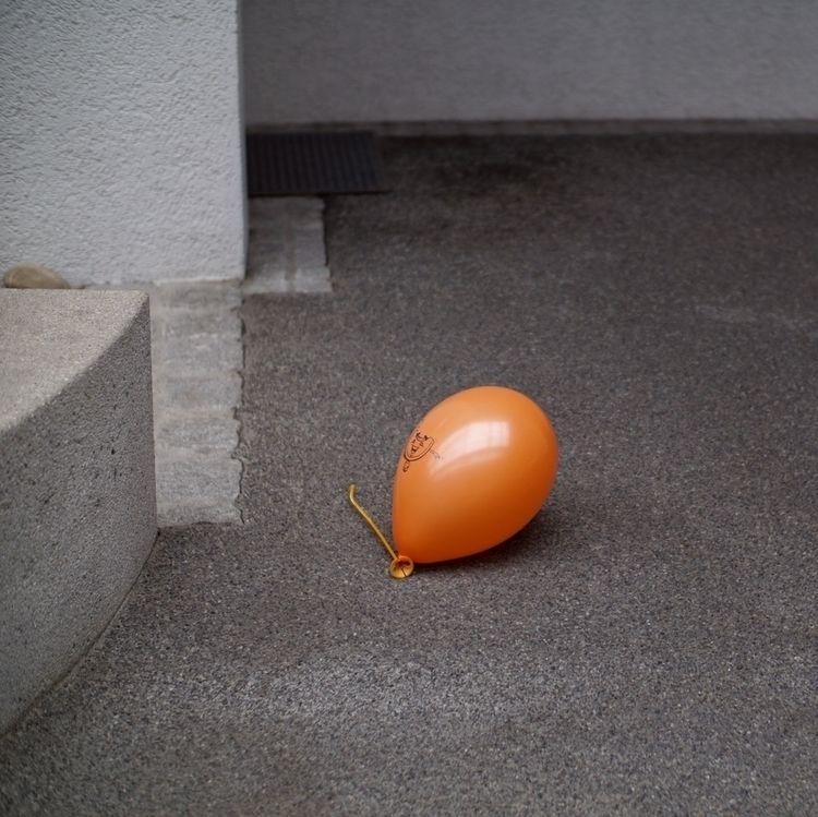 Mimotai - photography, balloon, orange - marcushammerschmitt | ello