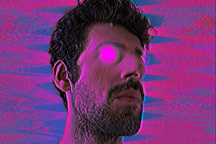 photography, edit, purple, glitch - crowking   ello