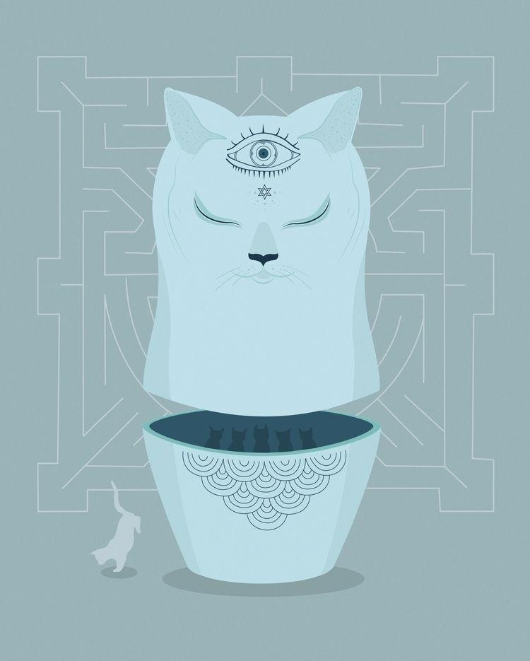 Microcuento «El gato entendía p - marinaembiz | ello