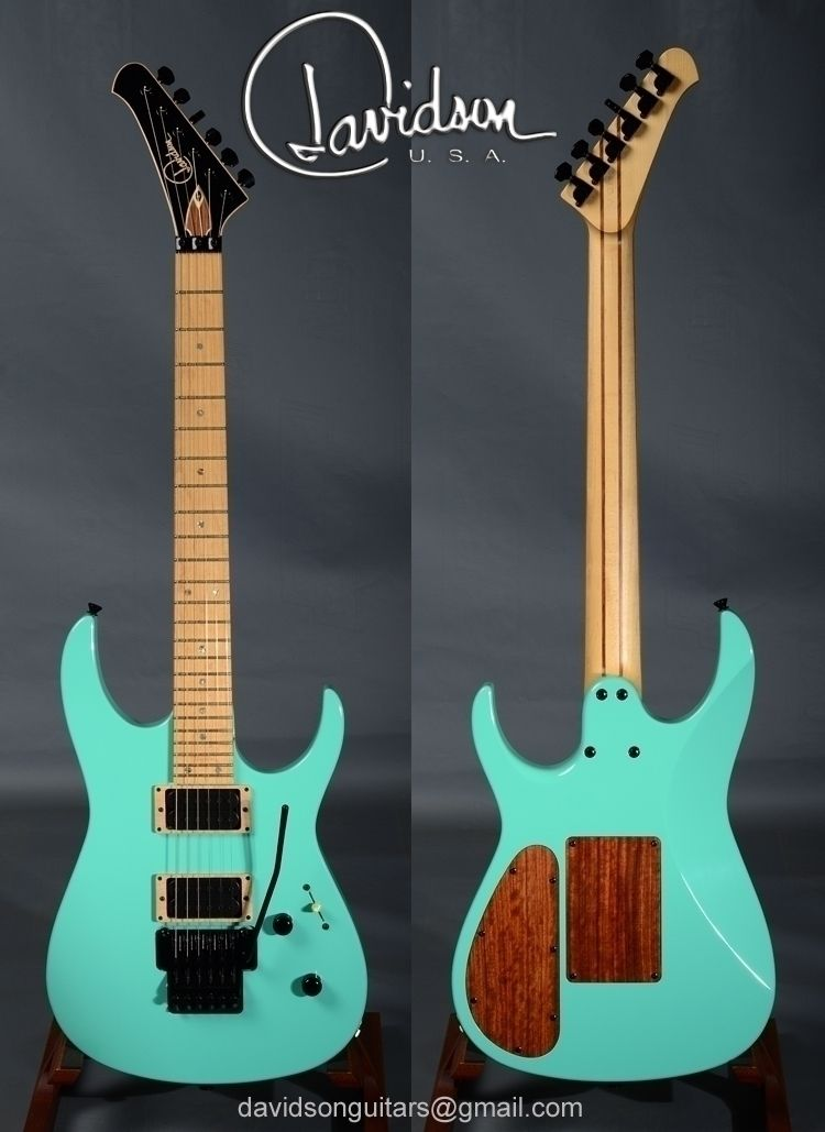 Specifications: MODEL - Tremor  - davidsonguitars | ello