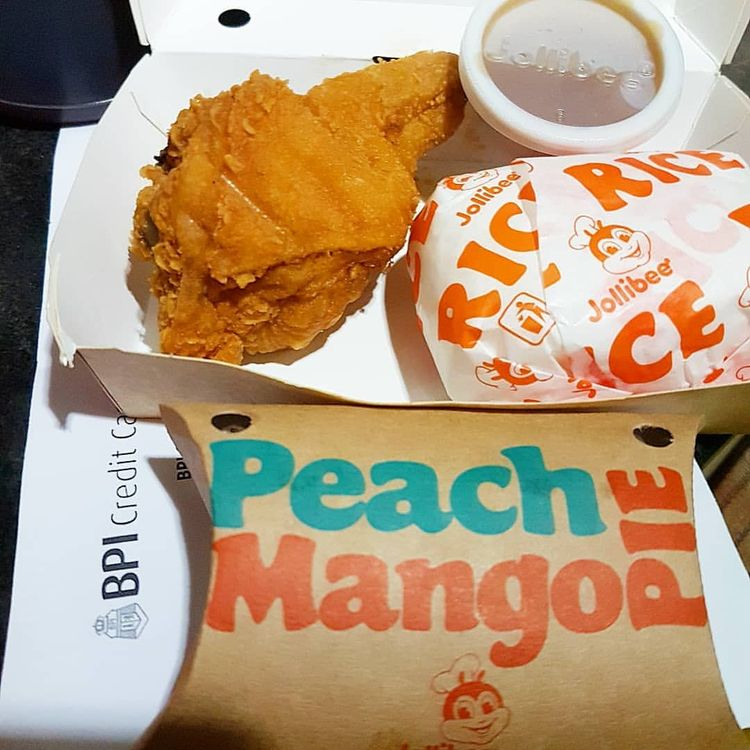 Chicken Joy Peach Mango Pie Yum - vicsimon | ello