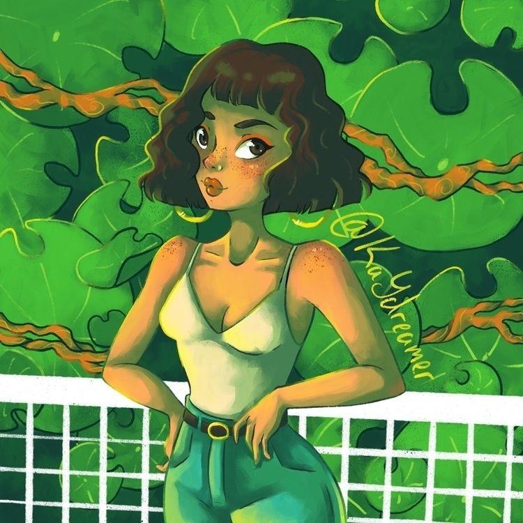 illustration Draw Style challen - kaydreamer | ello