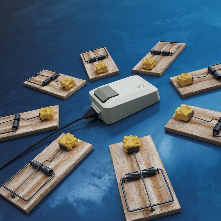 Mouse Trap - 3d, octane, octanerender - allanvekta   ello