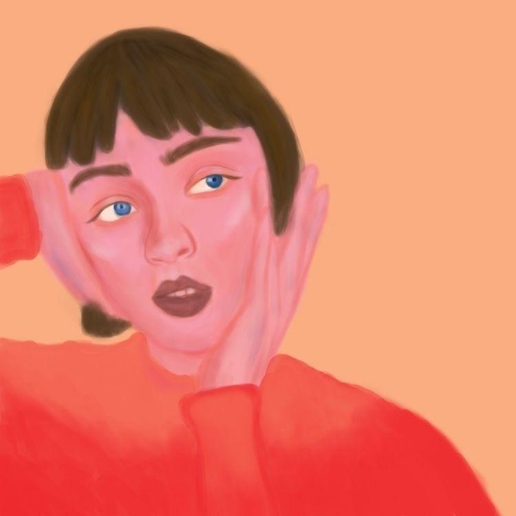 Tangerine - design, art, drawing - artfiqah | ello