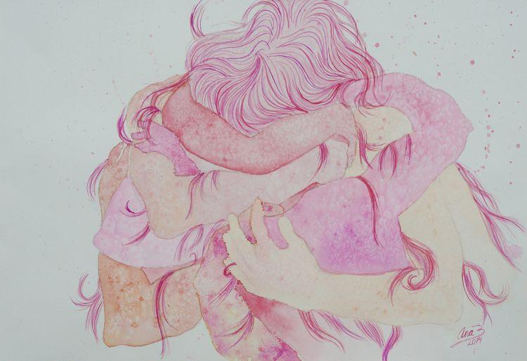 Untitled, watercolor paper, 201 - anabertinahursh | ello