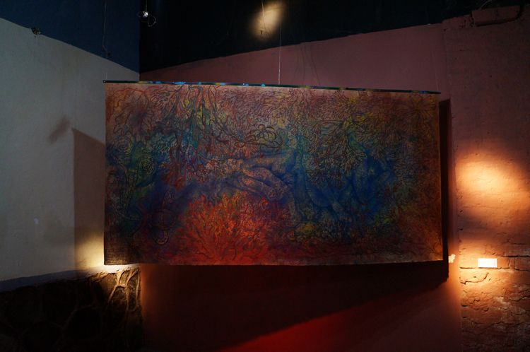 Exhibition El Muro gallery. 201 - anabertinahursh | ello