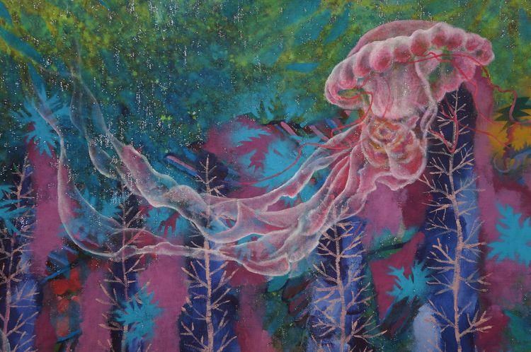 'Landscape jellyfish' (Detail)  - anabertinahursh | ello