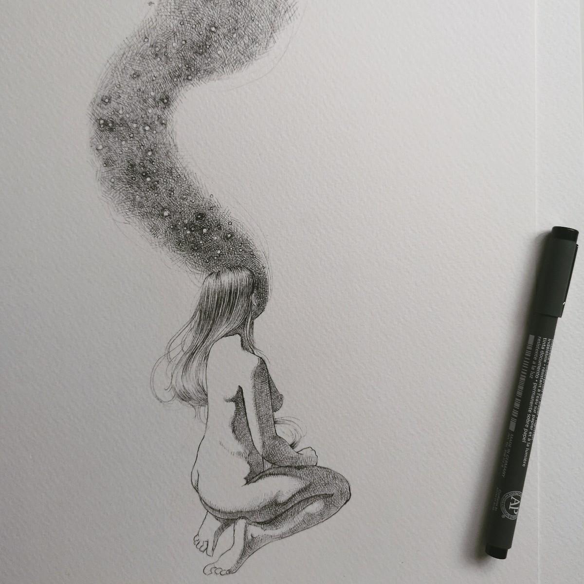 Ink watercolor paper - ania_tomicka | ello