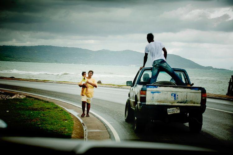 Jamaica! Shot taxi Port Antonio - tednewsome   ello