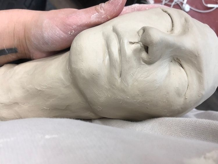 held - megancmurphy, wip, art, sculpture - megancmurphy | ello