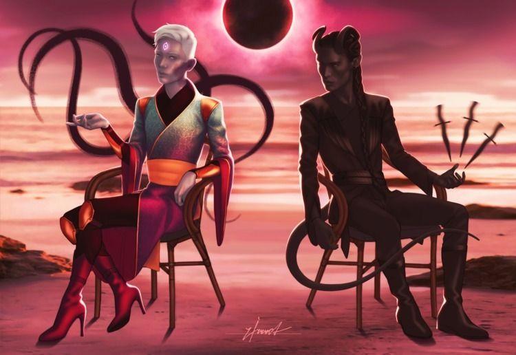 Red Eclipse, 2019 - zirrrot | ello