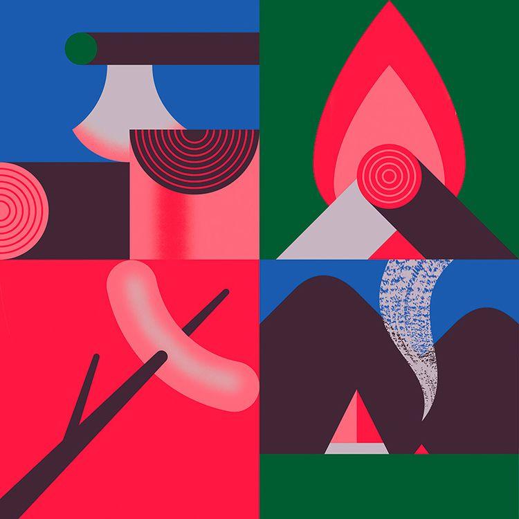 Outdoors - illustration, art, design - alconic | ello