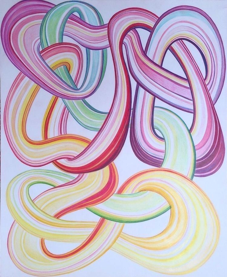 Colored Pencil 14x17 - drawing - markedarts   ello