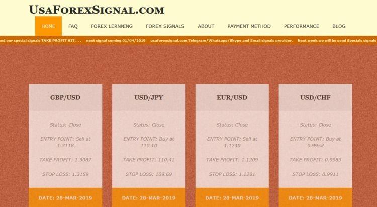 Forex Signals Provider USA: Rel - usaforexsignal   ello