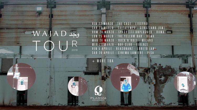 1st tour 6 concerts days 4 mate - wajad | ello
