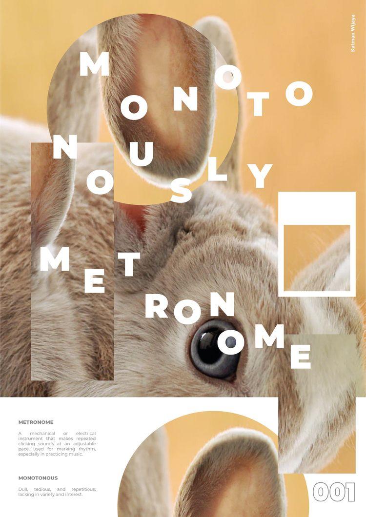 Mono. Poster, Adobe Illustrator - mononomad   ello