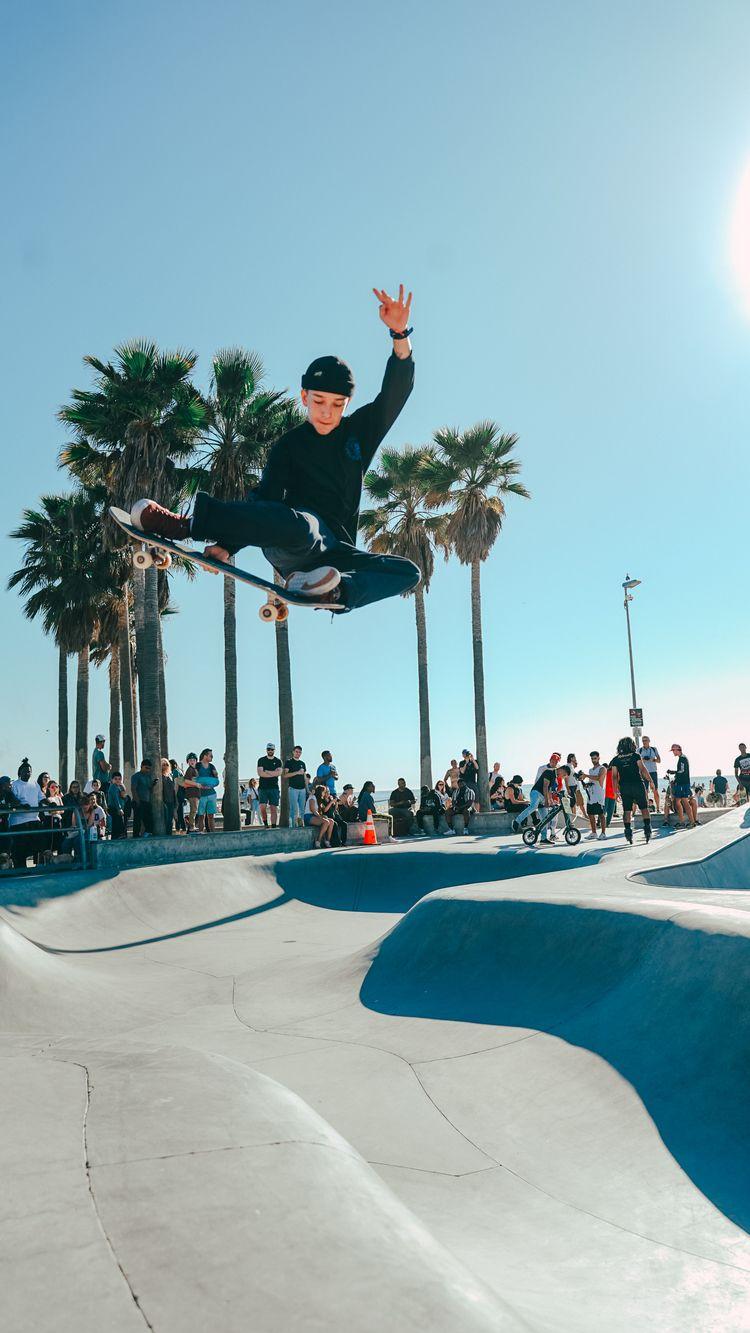 Skateboarder Venice Beach Skate - kyleortiz | ello