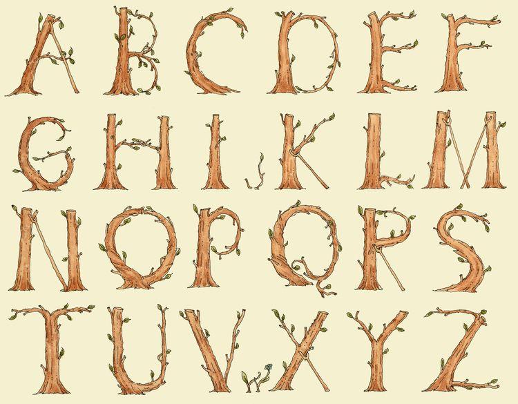 good alphabet grow trees, revis - mattiasadolfsson | ello