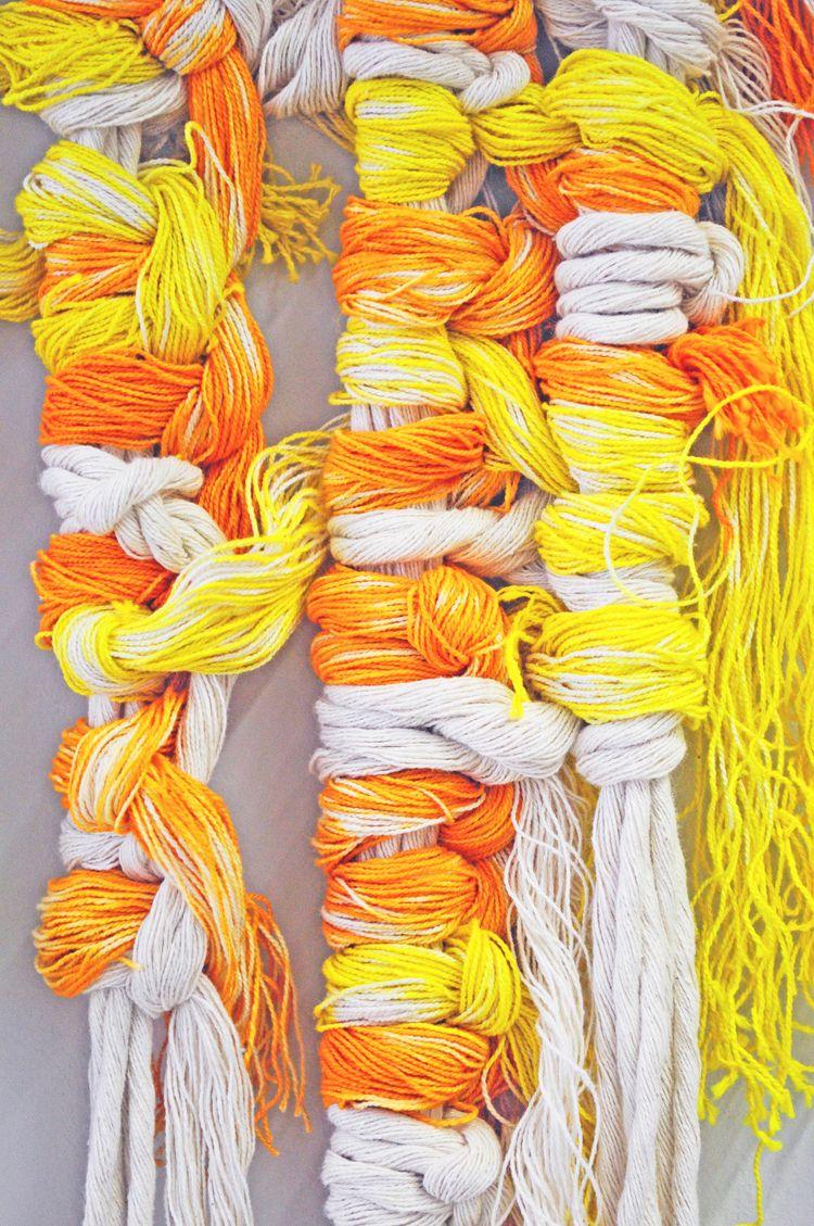 Quipu Nr.1 ancient culture knot - gabrielagietl | ello