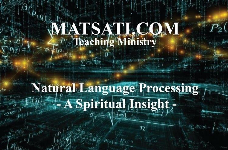 Natural Language Processing – S - matsati | ello