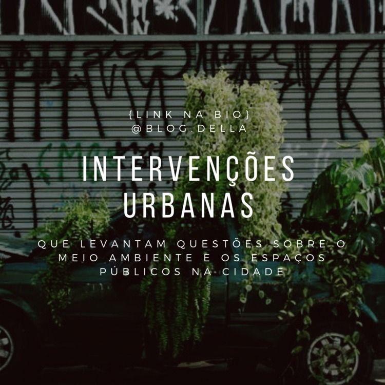 Brazilian urban interventions e - brunadella | ello