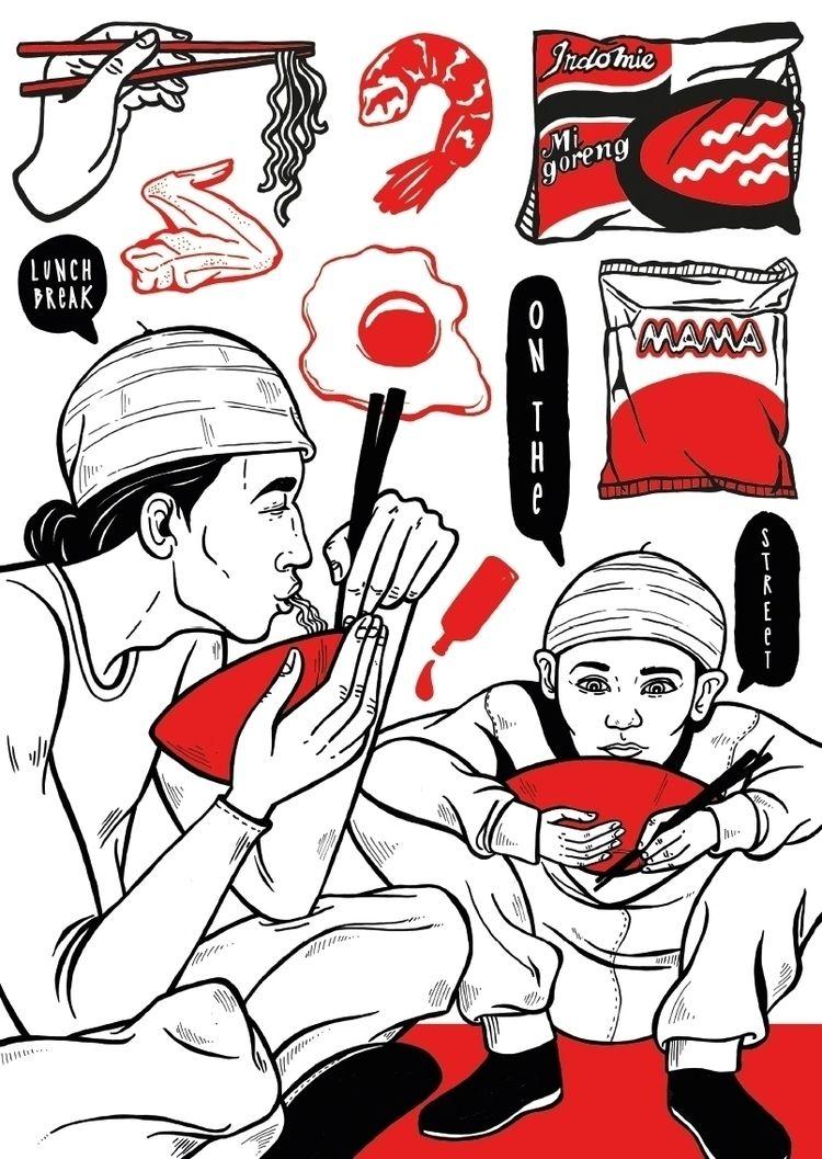 SUKSMĀ BALI - illustrated trave - safu_one | ello