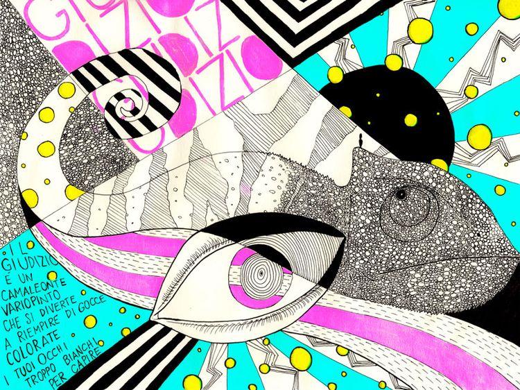 Judgment colorful chameleon enj - preston5 | ello