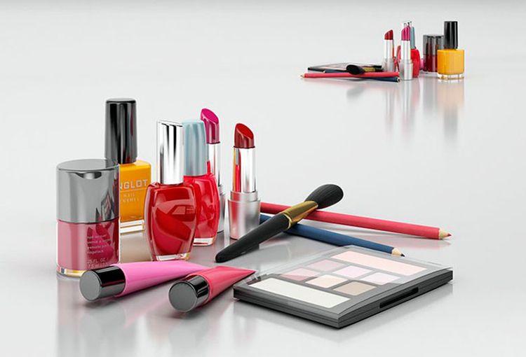 Makeup Cosmetics 3D Model High  - c4ddownload | ello