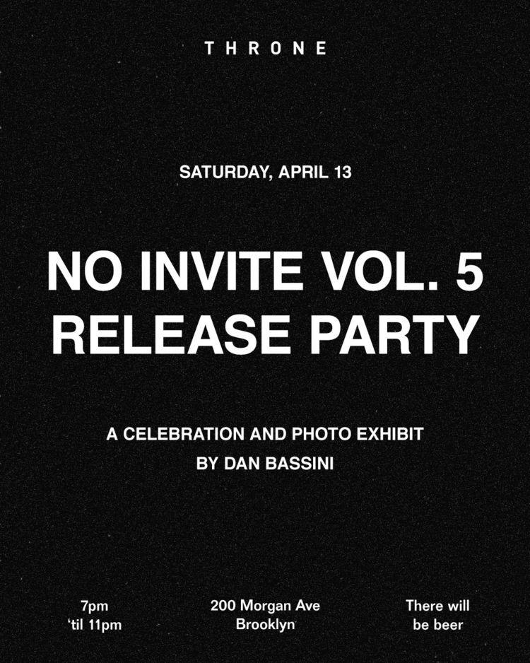 April 13th releasing Invite Vol - danbassini | ello