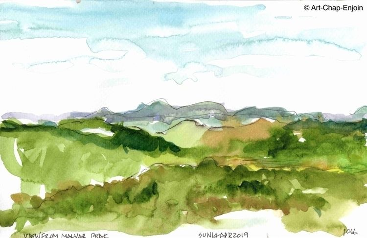 1067 - View Malvar Peak Sunday  - artchapenjoin | ello