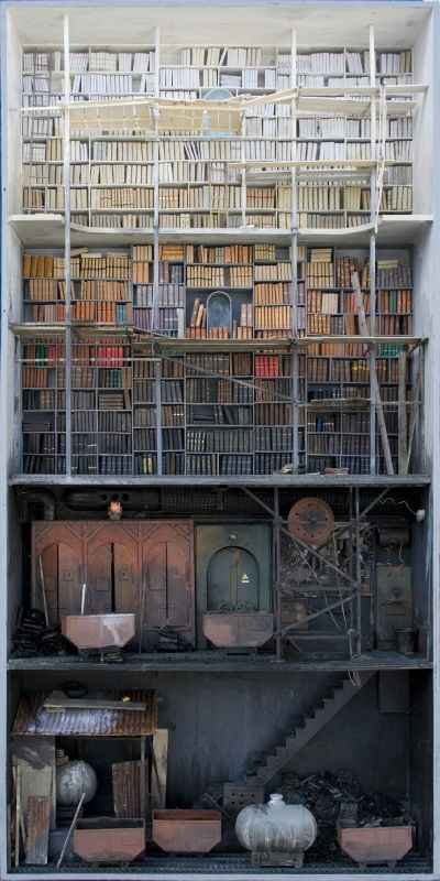 Amazing dark doll houses Trappe - nettculture | ello