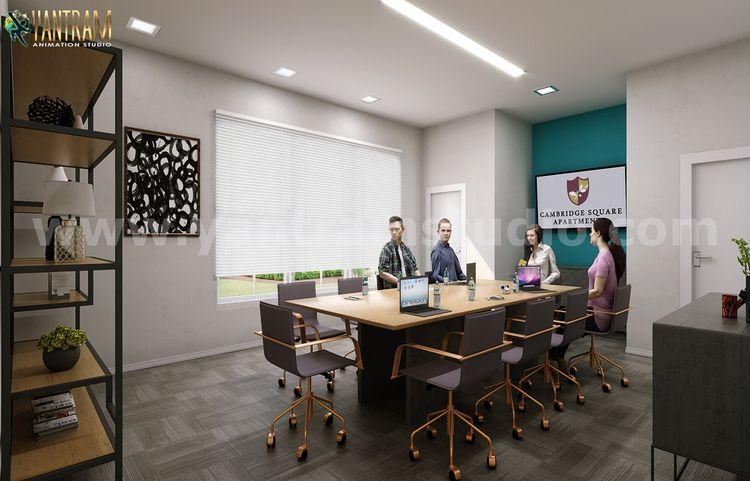 Modern Conference Room 3D Inter - yantramstudio | ello