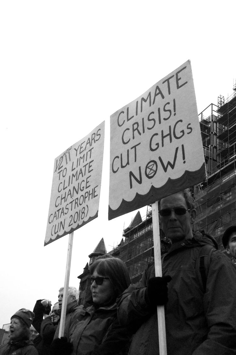 Global Warming Protest 2019 - eliza_coulson   ello
