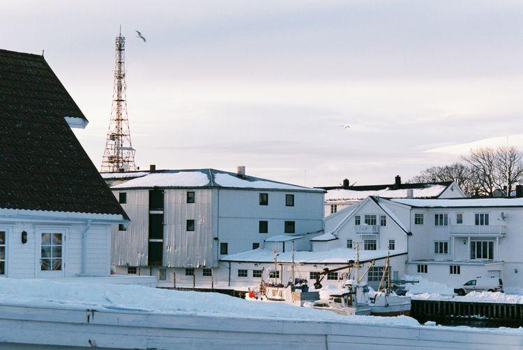 Henningsvær small town Northern - unfve | ello