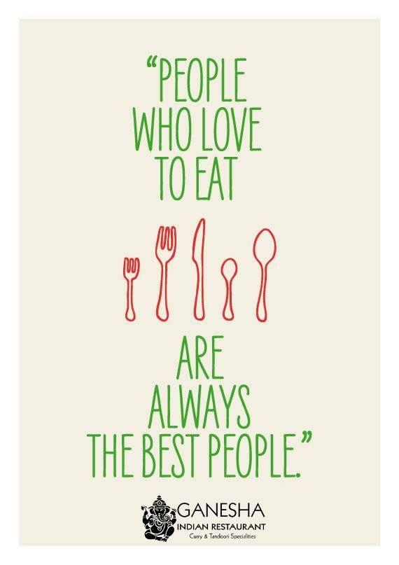 People Love Eat love eat people - ganesharestaurant   ello
