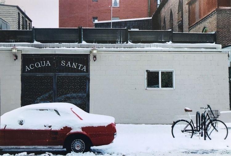 Brooklyn - snow, filmphotography - dear_fia | ello