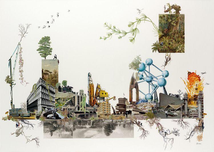 Amazing collages Brighton based - nettculture   ello