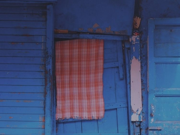 blue - block, frame, photo, art - kaliyug | ello
