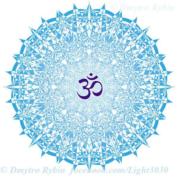 Mandala aum / om sign - mandala - dmytroua   ello