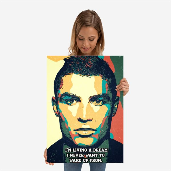 Cristiano Ronaldo Print,Cristia - c4dgraphic   ello