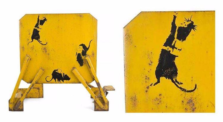 Piss: Banksy Takes Leak Turns W - banksy | ello