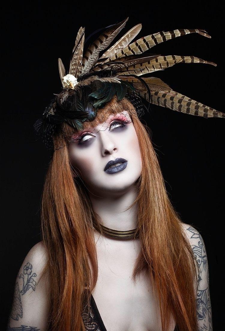 """""""Chicken"""" – Photographer/Headpi - darkbeautymag   ello"""