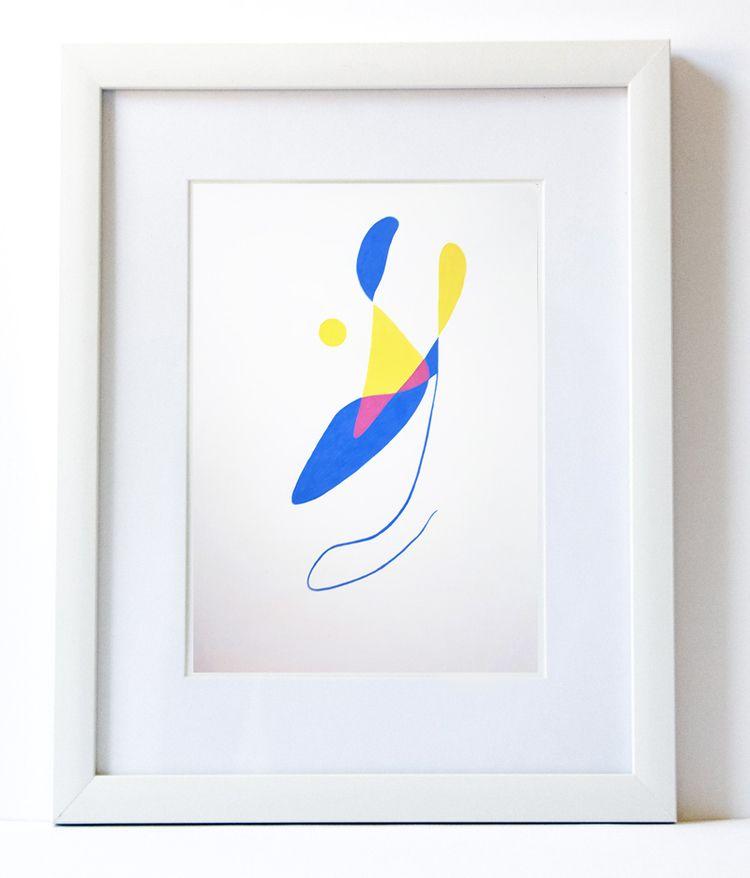 Ballet 29,7 42cm - art, abstract - rogeriobento | ello