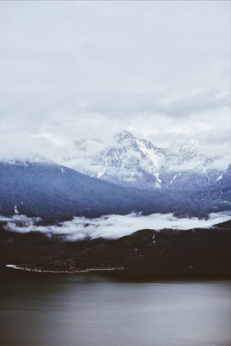 Gazing distance. Pitt Lake, BC - davidarias | ello