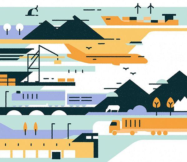 Logistics environment - sunyabo | ello